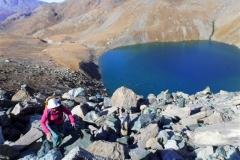 montée au col du Lac Noir